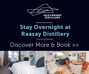 Stay overnight at raasay distillery
